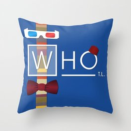 not your average doctor Throw Pillow