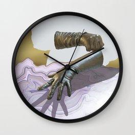 Gloves & Geodes Wall Clock