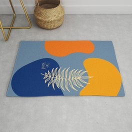 Be Kind - Summer Abstract Rug