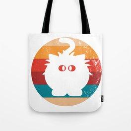 Vintage Liger Lover Retro Big Cat Silhouette Gift Tote Bag