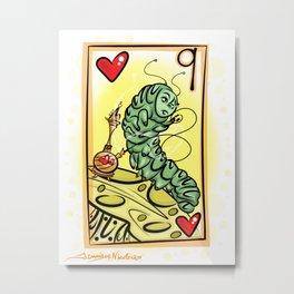 The Caterpillar Card 2-28-14 Metal Print