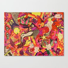 Temporary Insanity Canvas Print