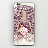 huebucket iPhone & iPod Skins featuring Your Bone by Huebucket