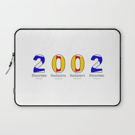 2002 - NAVY - My Year of Birth Laptop Sleeve