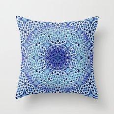 Mandala Azuela Throw Pillow