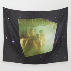 Cubic Transportation  Wall Tapestry