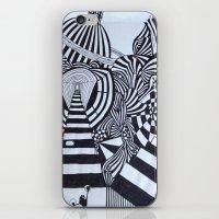 ninja iPhone & iPod Skins featuring Ninja by Biancasigns