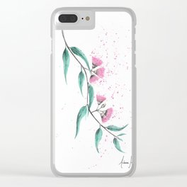 Eucalyptus Lush Clear iPhone Case