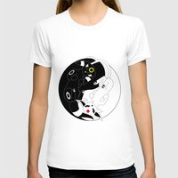 ying yang T-shirts featuring Ying & Yang by Kurew Kreations