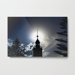 Newcastle, NSW, Australia Customs House Metal Print