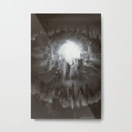"""Explosion"" - Creation Abomination Metal Print"