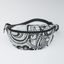 Polynesian FLORAL Tribal Threads Fanny Pack