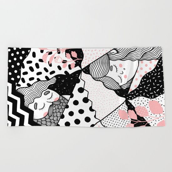 Intersections Beach Towel