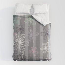 Flower Play Duvet Cover