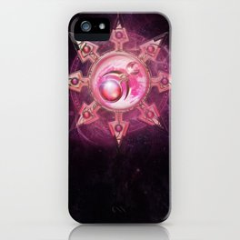 Chaos Icon - Slaanesh iPhone Case