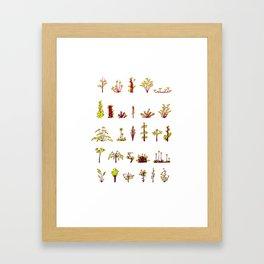 Plants plants plants Framed Art Print
