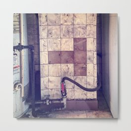 Missing Tile Metal Print
