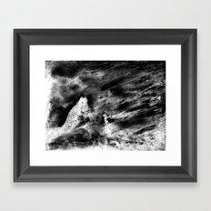 Dream view serie - Night meeting Framed Art Print