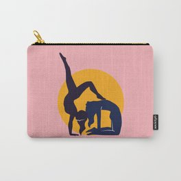 Yoga pose, Yoga couple Carry-All Pouch