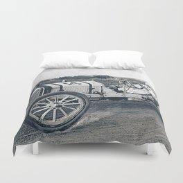 Race car Duvet Cover