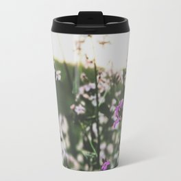 Purple Flowers • Appalachian Trail Travel Mug