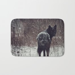 Snow Covered Bath Mat
