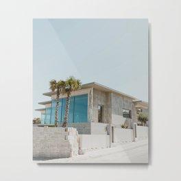 Modern House Metal Print