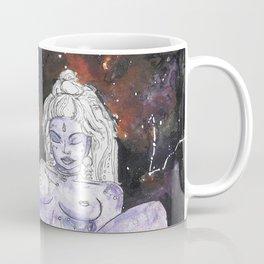 Lavender Star Baby - Constellation Venus Goddess Painting Coffee Mug