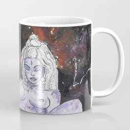 Lavender Star Baby - Constellation Venus Goddess Painting Coffee Mug