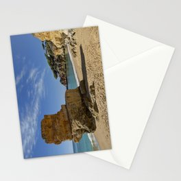 Olhos d'Agua rock, Portugal Stationery Cards