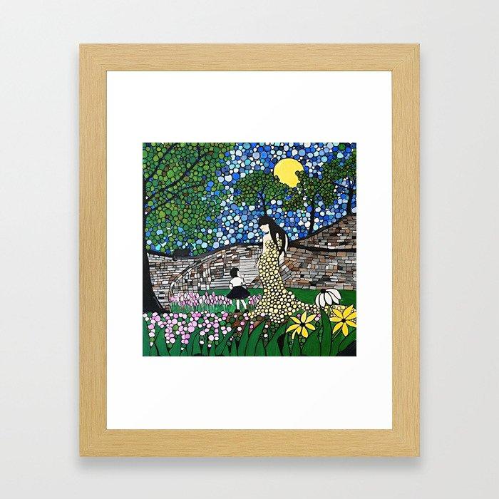 Easter Garden Framed Art Print