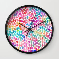 rain 8 Wall Clock