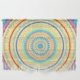 Spring Color Mandala Design Wall Hanging