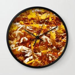 Crunch Underfoot Wall Clock