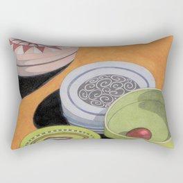 Small bowls n. 4 Rectangular Pillow