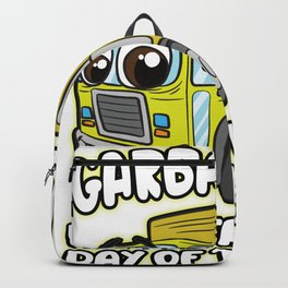 Garbage Day Children Truck Backpack