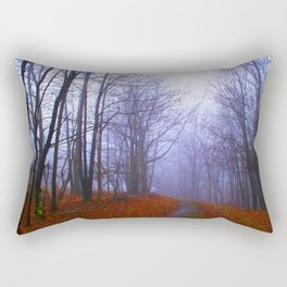 Vibrant path Rectangular Pillow