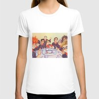 haikyuu T-shirts featuring Post Practice Lunch by AndytheLemon