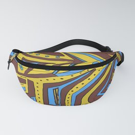 Less-than-Perfect Perfection #abstract #Society6 #byhand Fanny Pack