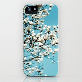 flower photography by Jerry Wang iPhone Case