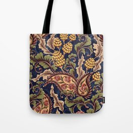 Beautiful Victorian Vintage Floral Pattern Tote Bag