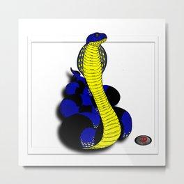 Darrell Merrill Nerd Artist King Cobra Metal Print
