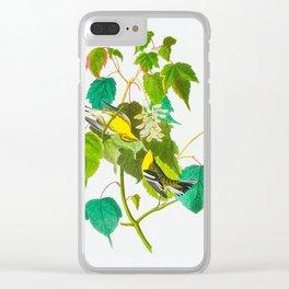 Hemlock Warbler Bird Clear iPhone Case