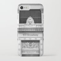 broadway iPhone & iPod Cases featuring 100 Broadway by Jon Cain
