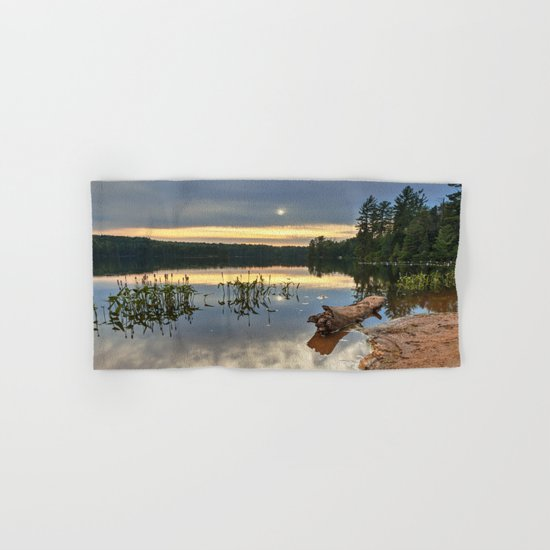 Nicks Lake Sunset Hand & Bath Towel