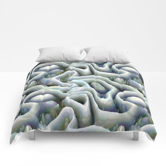 Ice Caves Comforters