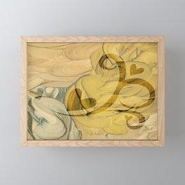 Shamash II Framed Mini Art Print