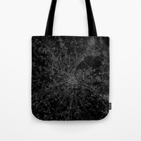 moscow Tote Bags featuring Moscow by Line Line Lines