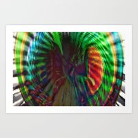 portal 2 Art Prints featuring Spiral Portal 2 by Vertigosquare