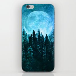Moon Forest iPhone Skin
